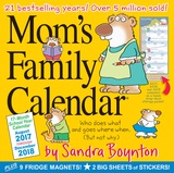 Mom's Family Calendar - 2018 Calendar Calendarios