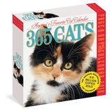 365 Cats Color Page-A-Day - 2018 Boxed Calendar Calendriers