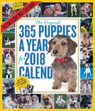 The 365 Puppies-A-Year Picture-A-Day - 2018 Calendar Calendriers