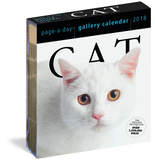 Cat Page-A-Day Gallery - 2018 Boxed Calendar Calendriers