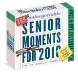 389 Unforgettable Senior Moments Page-A-Day - 2018 Boxed Calendar Calendars