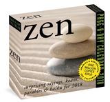 Zen Page-A-Day - 2018 Boxed Calendar Kalendere