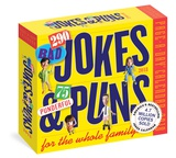 304 Really Bad Jokes + 61 Hilarious Puns Page-A-Day - 2018 Boxed Calendar Kalenders