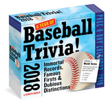 365 Days Of Baseball Trivia! Page-A-Day - 2018 Boxed Calendar Kalendere
