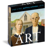 Art Page-A-Day Gallery - 2018 Boxed Calendar Kalendere