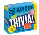 365 Days Of Amazing Trivia! Page-A-Day - 2018 Boxed Calendar Calendriers