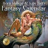 Boris Vallejo & Julie Bell's Fantasy - 2018 Calendar Kalenders