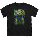Youth: Justice League - Power Burst Shirts