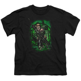 Youth: Green Arrow- Jump Shot T-shirts
