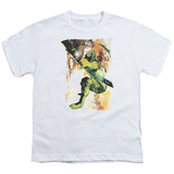 Youth: Green Arrow- Painted Camoflouge T-Shirt