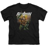 Youth: Aquaman- Beach Sunset T-Shirt