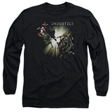 Long Sleeve: Injustice: Gods Among Us - Good Vs Evils T-Shirt