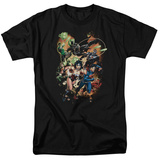 Justice League- Battle Ready T-shirts