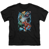 Youth: Justice League - Electric Team T-shirts