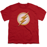 Youth: Flash- Gold & White Logo Shirt