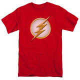 Flash- Gold & White Logo Shirts