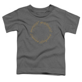Toddler: Lord Of The Rings- One Ring Inscription Shirts