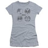 Juniors: Kiss/Sigal Buttons T-shirts
