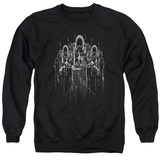 Crewneck Sweatshirt: Lord Of The Rings- The Nine T-Shirt