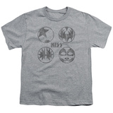 Youth: Kiss/Sigal Buttons T-Shirt