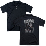 Polo: Kiss/Glam Rock Beasts (Back Print) Shirts