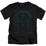 Juvenile: Lord Of The Rings- Doors Of Durin T-shirts