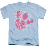 Juvenile: Pink Panther/Glamour Print T-Shirt