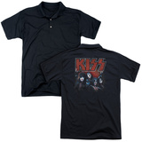 Polo: Kiss- Kings (Back Print) T-Shirt