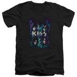 Kiss - Colorful Fier V-Neck Shirt