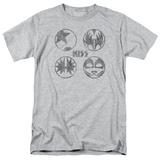 Kiss/Sigal Buttons T-Shirt