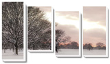 Rosy Sunset *Exclusive* Canvas Set by Assaf Frank