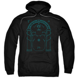 Hoodie: Lord Of The Rings- Doors Of Durin Pullover Hoodie