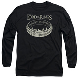 Long Sleeve: Lord Of The Rings- Ring Journey Long Sleeves