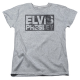 Womens: Elvis - Block Letters Shirts