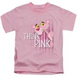 Juvenile: Pink Panther/Think Pink T-Shirt