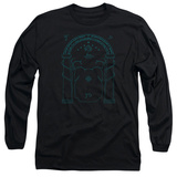 Long Sleeve: Lord Of The Rings- Doors Of Durin Long Sleeves