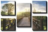 Dreams *Exclusive* Bedruckte aufgespannte Leinwand von  Celebrate Life Gallery