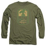 Long Sleeve: Lord Of The Rings- Green Dragon Tavern Long Sleeves