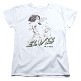 Womens: Elvis - Elvis Is A Verb T-shirts