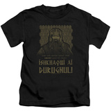 Juvenile: Lord Of The Rings- Ishkhaqwi Durugnul T-shirts