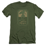 Lord Of The Rings- Green Dragon Tavern (Premium) T-shirts