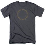 Lord Of The Rings- One Ring Inscription Shirts