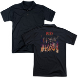 Polo: Kiss- Destroyer Cover (Back Print) T-Shirt