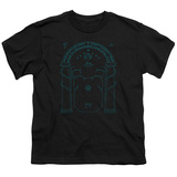 Youth: Lord Of The Rings- Doors Of Durin T-Shirt