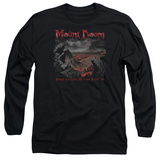 Long Sleeve: Lord Of The Rings- Mount Doom Corruption Long Sleeves