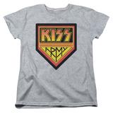 Womens: Kiss - Army Logo T-Shirt