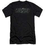 Aquaman- Shadow Logo Slim Fit T-shirts