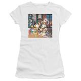 Juniors: Garfield- Odie Tree Shirts