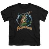 Youth: Aquaman- Ruler Of The Seas T-shirts