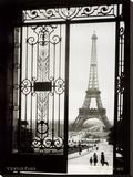 Paris, Frankreich – Ansicht des Eiffelturmes Leinwand von  Gall